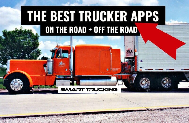 BEST TRUCKER APPS ON THE ROAD AND OFF ROAD