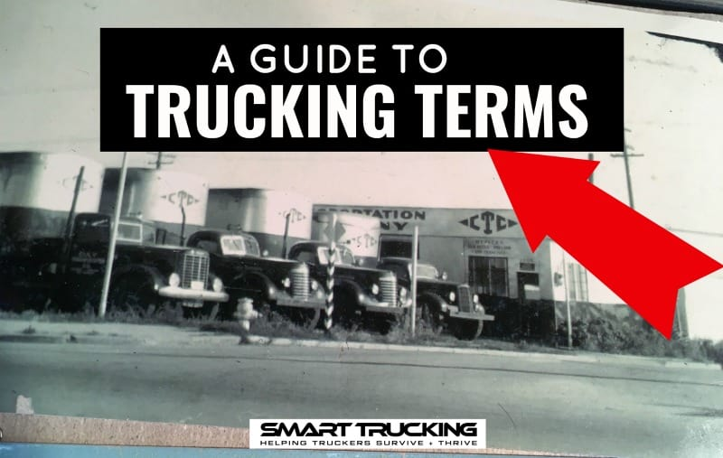 TRUCKING TERMS GUIDE
