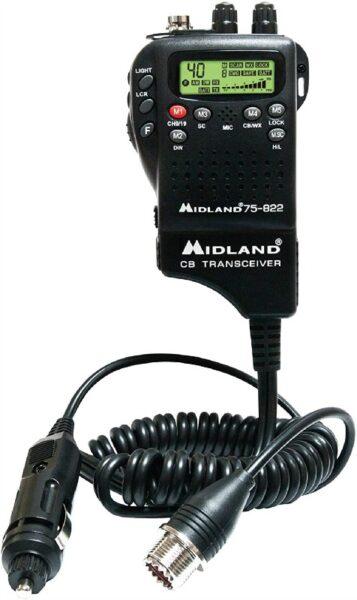 Midland 75822 CB Truck Driver Radio Hand held Device